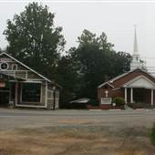 Antique Store & Church in Micaville